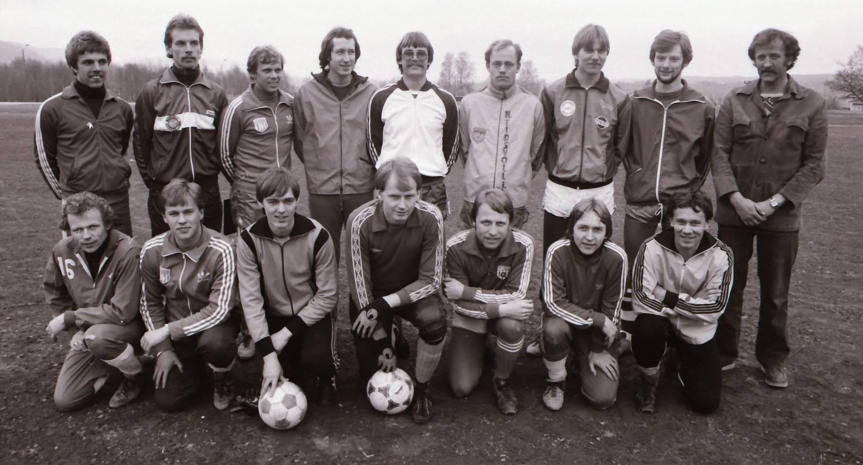 Bøn FKs stall i 1983